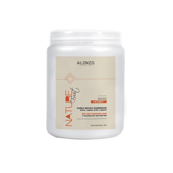 Kem hấp Alonzo Nature  phục hồi với tinh dầu mật ong dành cho tóc khô