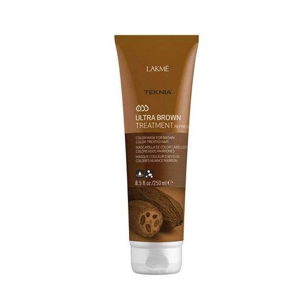 Kem hấp Teknia dưỡng màu cho tóc nhuộm nâu