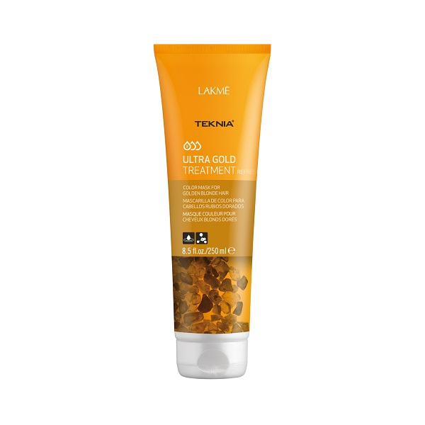 Kem hấp Teknia dưỡng màu cho tóc nhuộm vàng