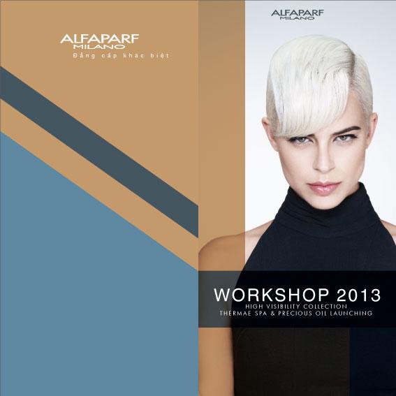 ALFAPARF WORKSHOP 2013 TẠI HÀ NỘI VÀ TP HỒ CHÍ MINH