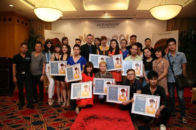 ALFAPARF WORKSHOP 2012 – NẤC THANG MỚI CỦA SỰ THÀNH CÔNG