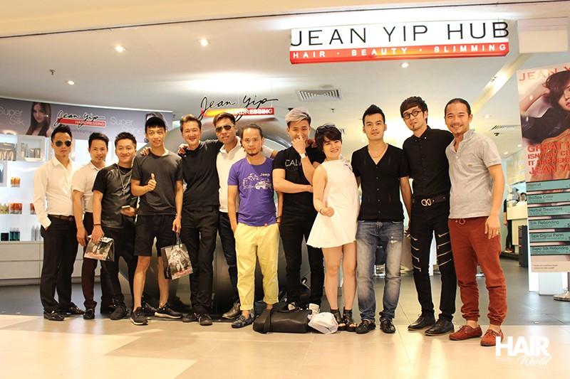 Workshop Alfaparf cắt – tạo kiểu – nghệ thuật quản lý chuỗi salon tại Singapore