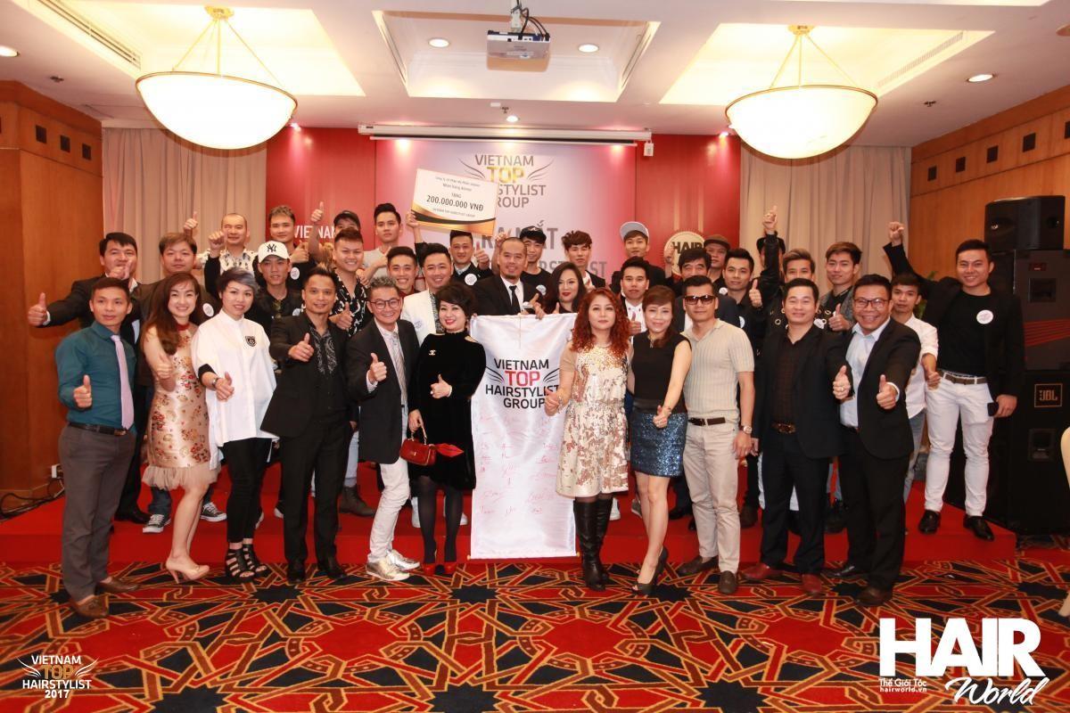 Công trình Vietnam Top HairStylist Group – những viên gạch đầu tiên!
