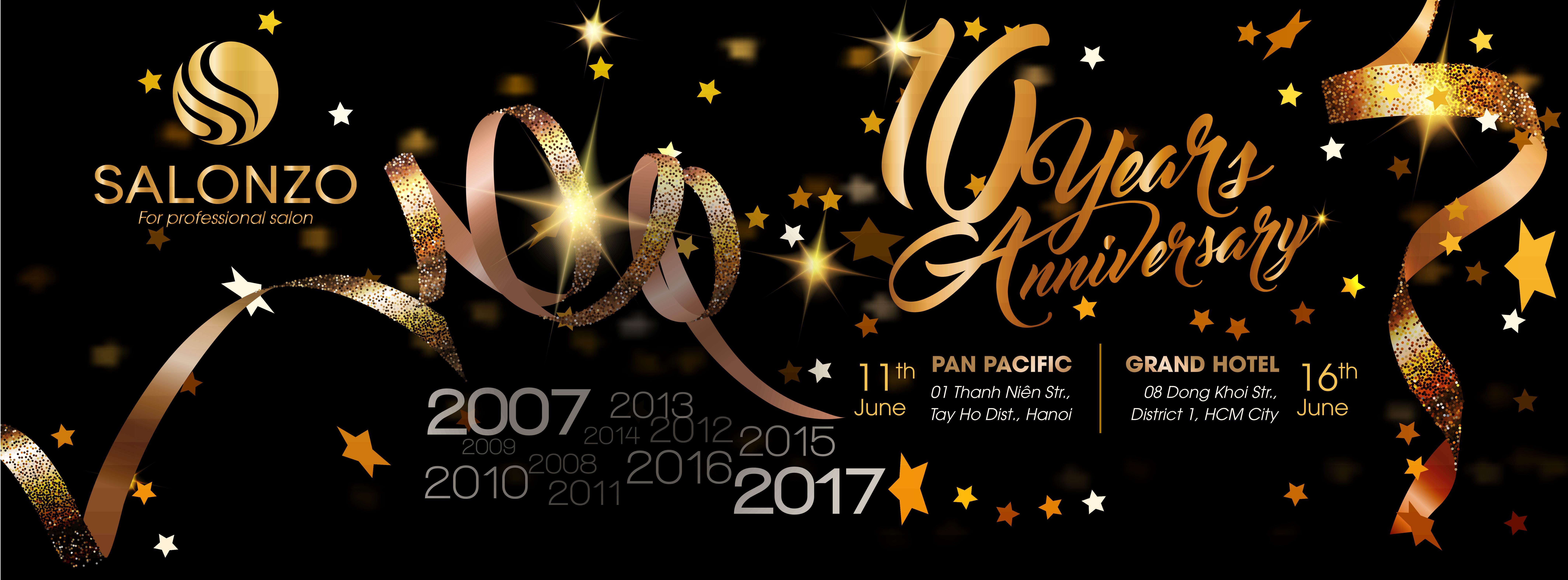 THANKS PARTY – Salonzo 10 năm một chặng đường