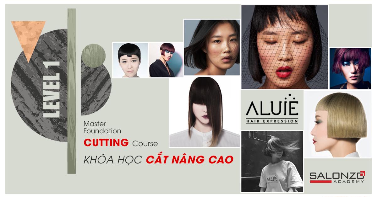 MASTER CUTTING – Du học tại chỗ với những chuyên gia hàng đầu ngành tóc thế giới với phong cách Vidal Sasoon