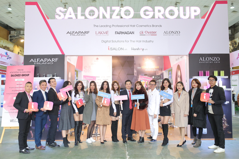 Sự Gắn Kết Các Thương Hiệu Của Salonzo Group Với Khách Hàng Cuối Thông Qua Triển Lãm Quốc Tế 2019